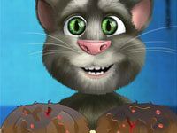 Talking Tom Paw Caring