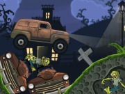 Driving The Truck In Graveyard