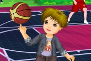 Baby Basketball Player