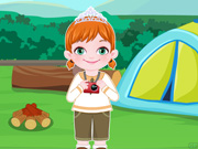 Baby Anna Go Camping