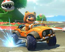 Mario Car Keys