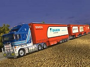 Road Train Truck JIgsaw
