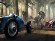 Classic Cars Racing Puzzle