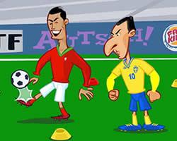 Ronaldo vs Ibrahimovic