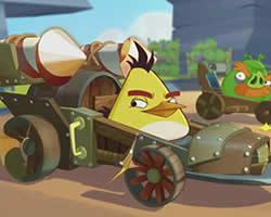 Angry Birds Chuck Racer